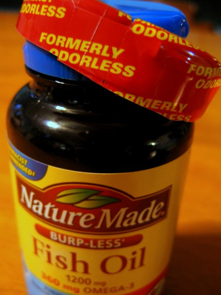 Formerly odorless fish oil the worst things for sale for Fish oil for sale