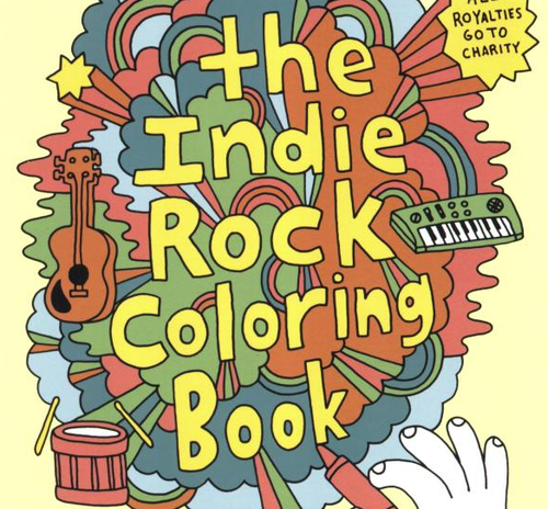 the indie rock coloring book - The Indie Rock Coloring Book