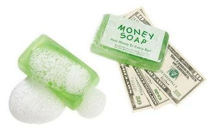 money-soap