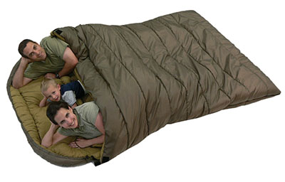 family-sleeping-bag