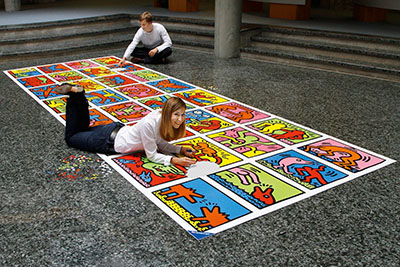 keith-haring-puzzle