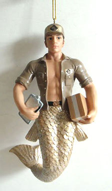 The UPS Mermaid: A Christmas Ornament » The Worst Things For Sale