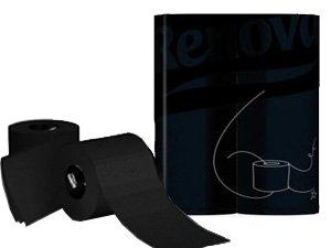black-toilet-paper