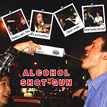 Alcohol-Shot-Gun