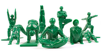 yoga-army-men