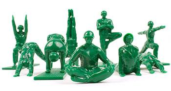 yoga-army-men