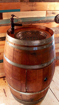 barrel-sink
