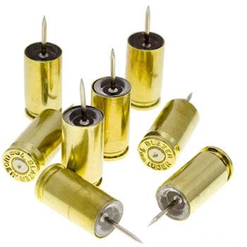 bullet-push-pins