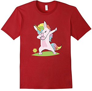 unicorn-dab-shirt
