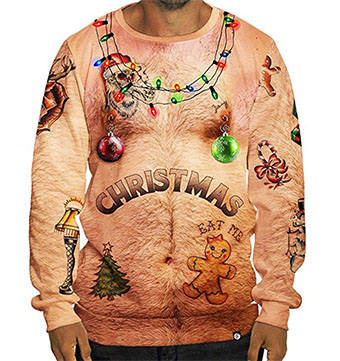 hairy-chest-christmas-sweatshirt